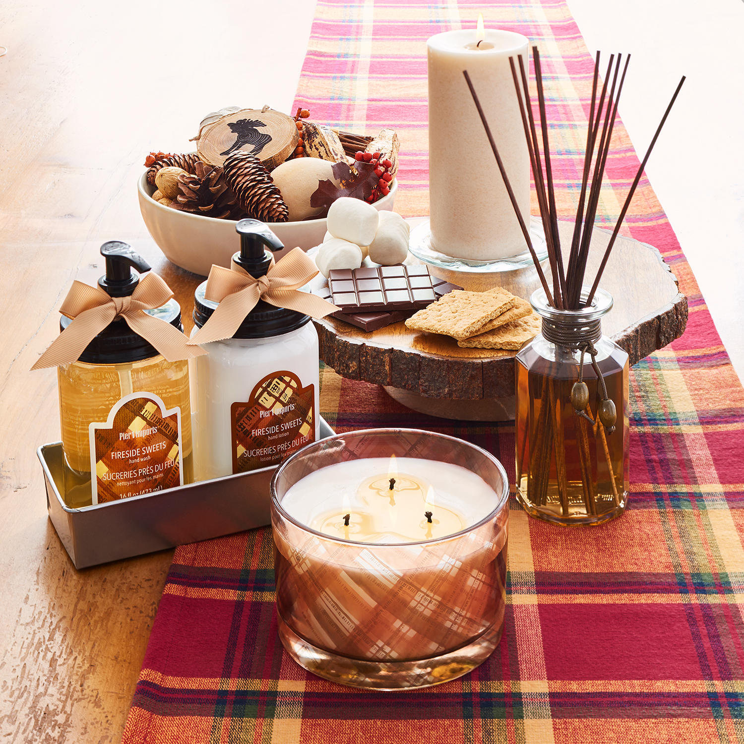 Fireside Sweets Reed Diffuser