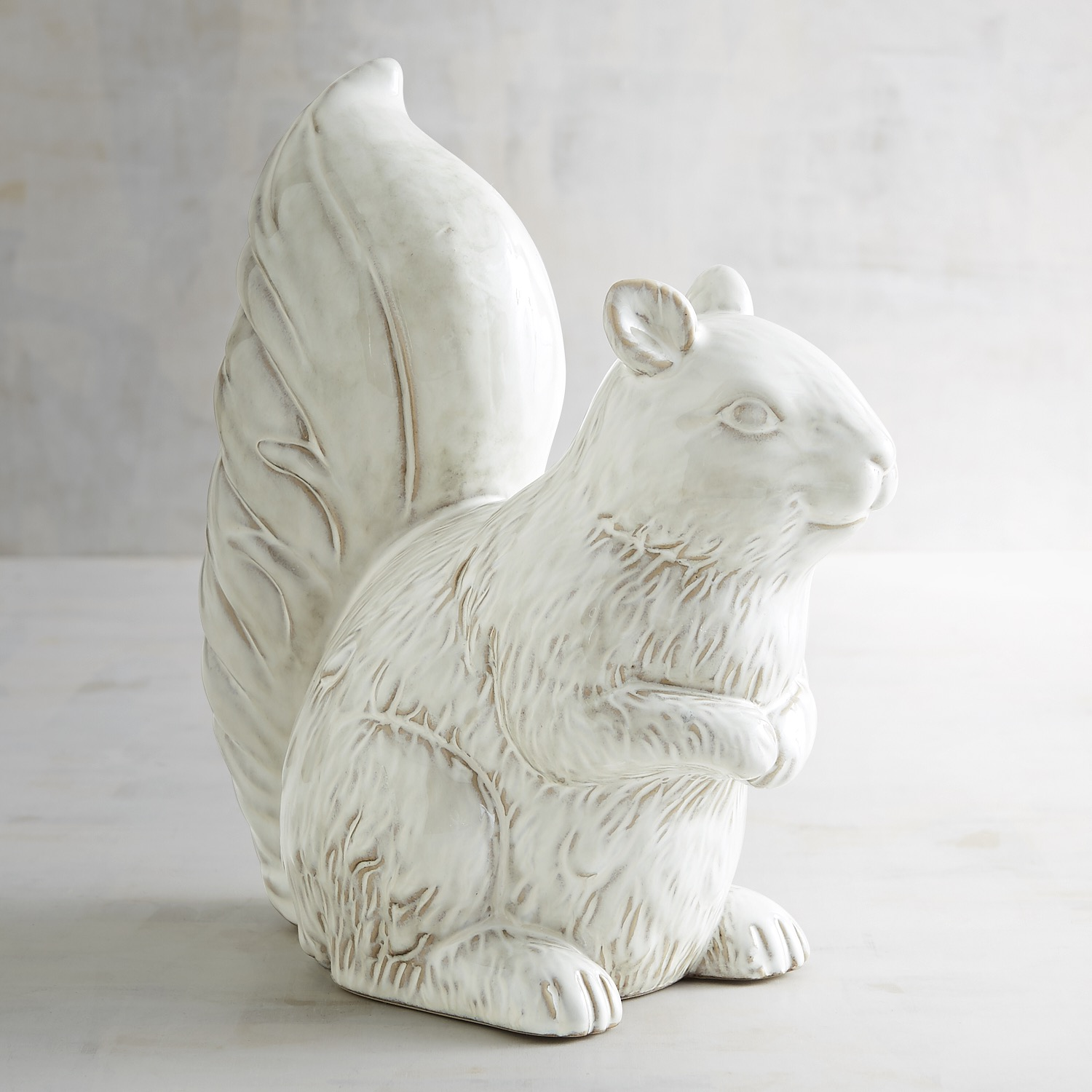 Ceramic Squirrel Decor