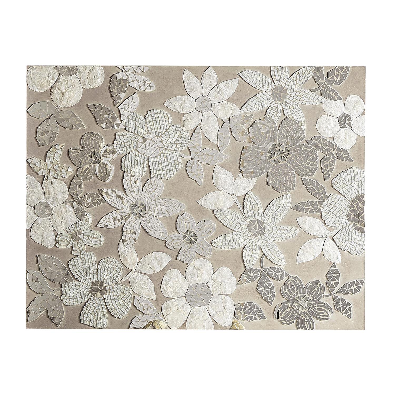 Mosaic Flower Medley Wall Decor