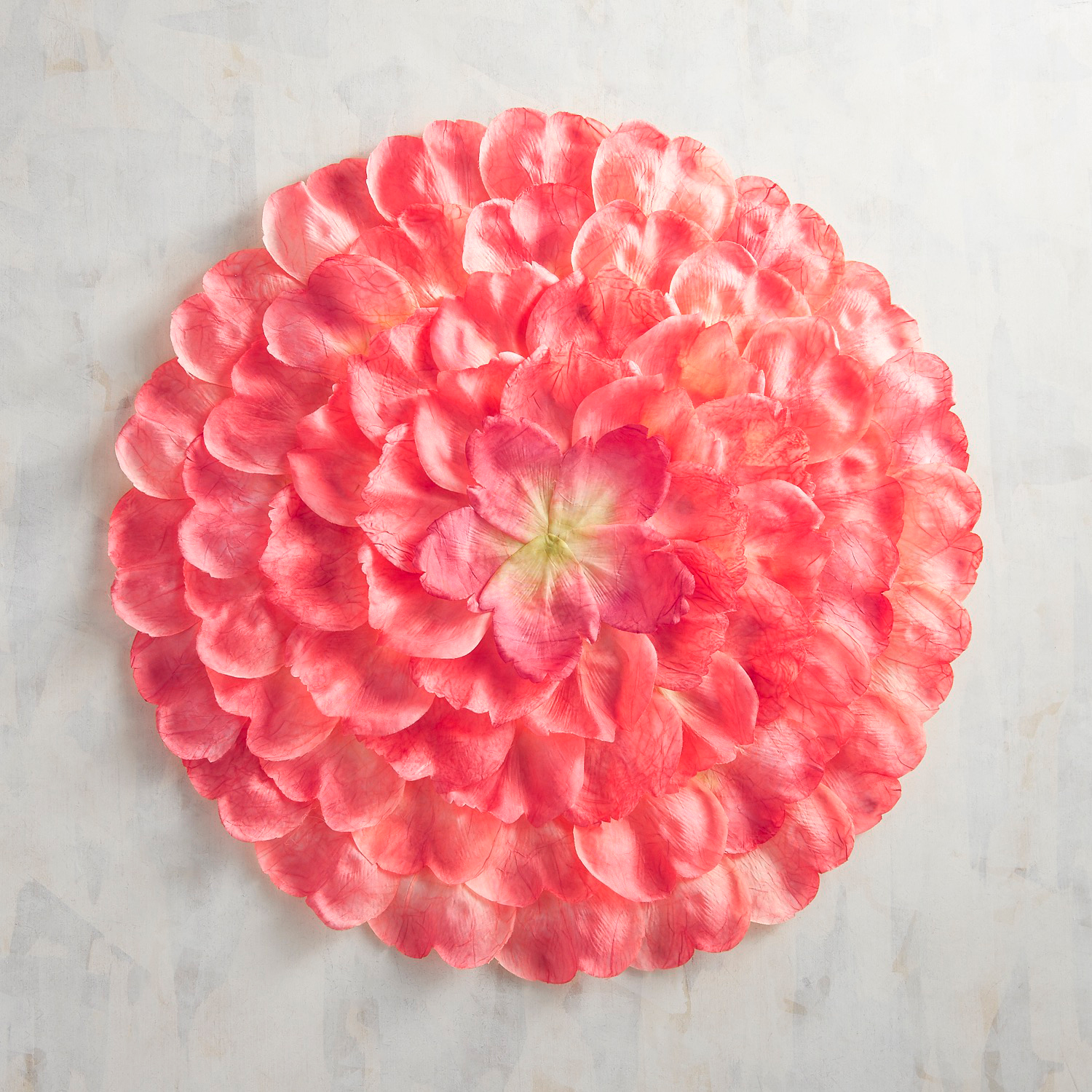 Coral Pink Peony Placemat