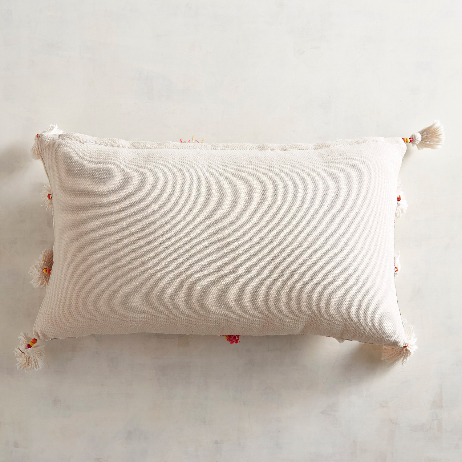 Tufted Textured Striped Pillow