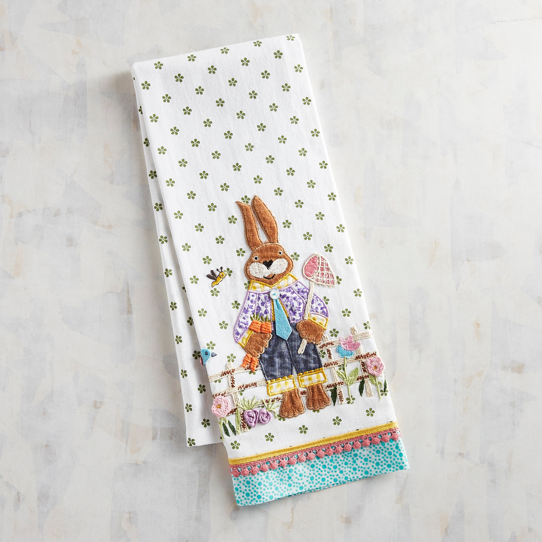 Mr. Bunny Tea Towel