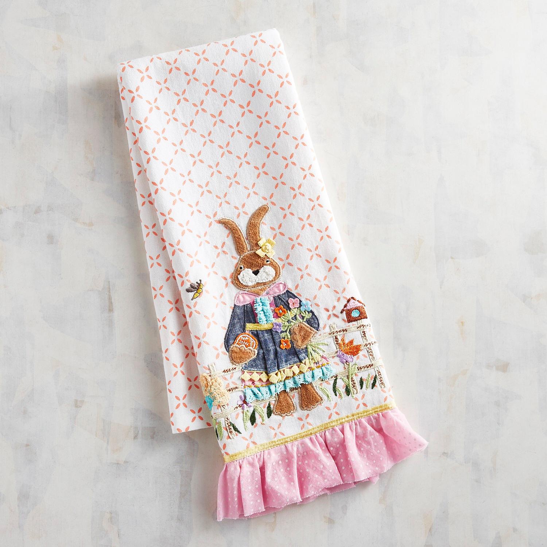 Mrs. Bunny Tea Towel
