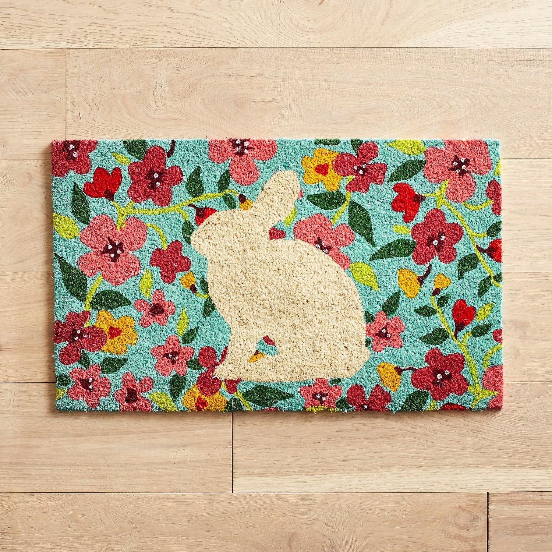 Bunny Silhouette Doormat
