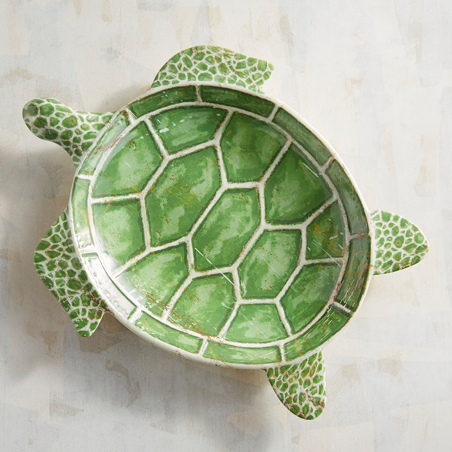 Speedy the Turtle Melamine Salad Plate
