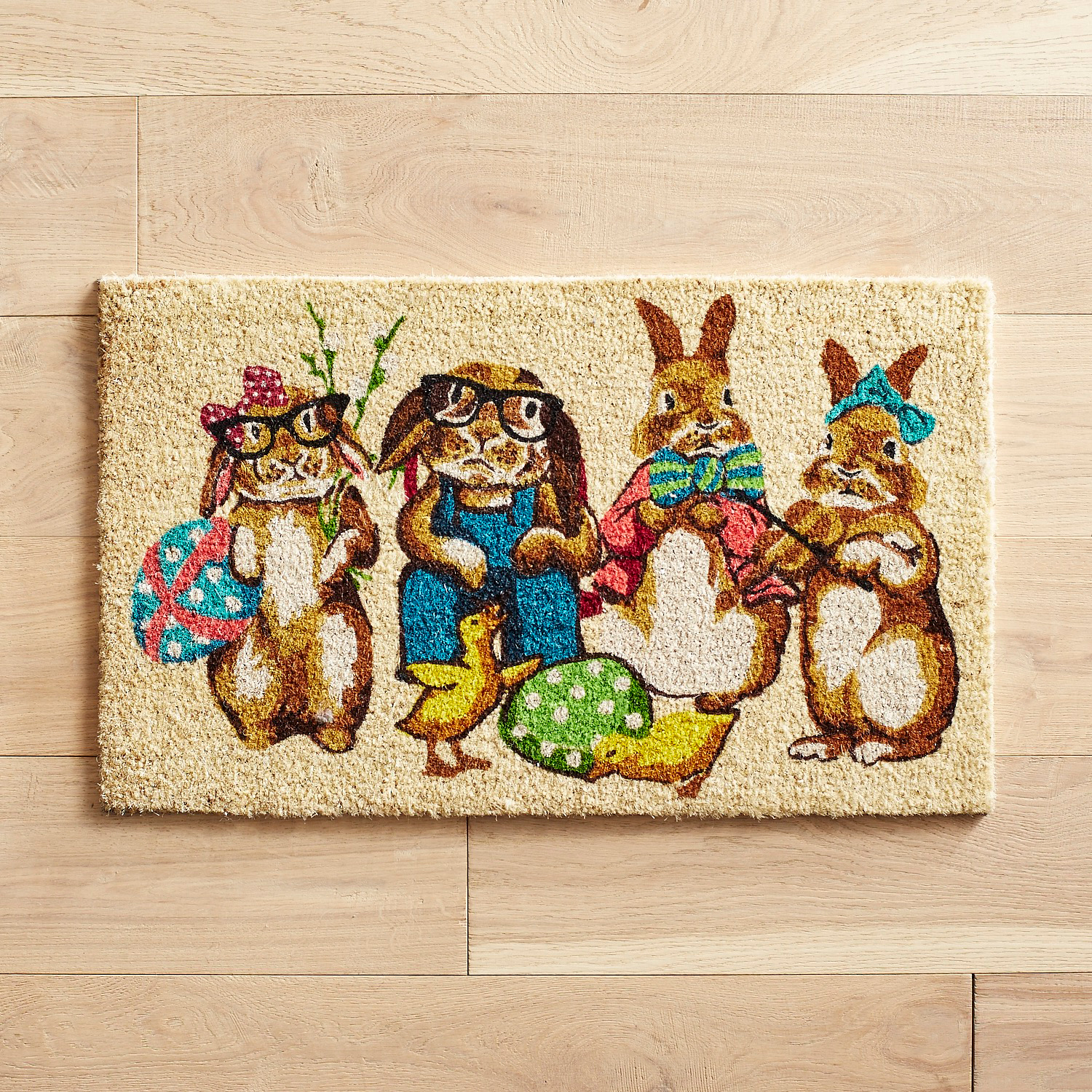 Bunny Party Doormat