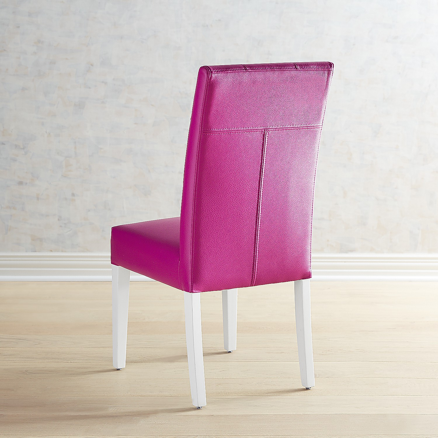 Berkley Lollipop Dining Chair with Snow White Wood