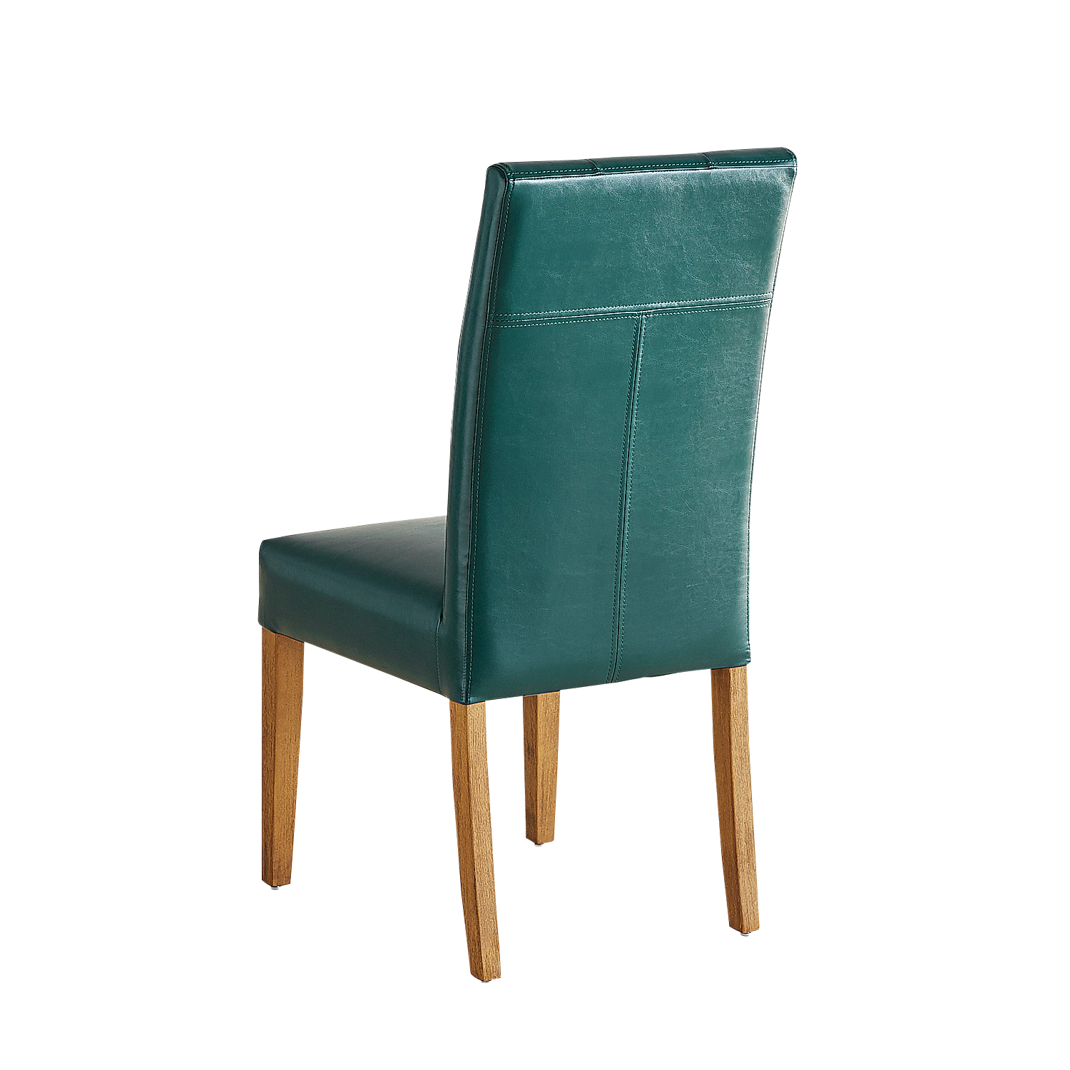 variation thumbnail of Mason Teal Dining Chair with Java Legs