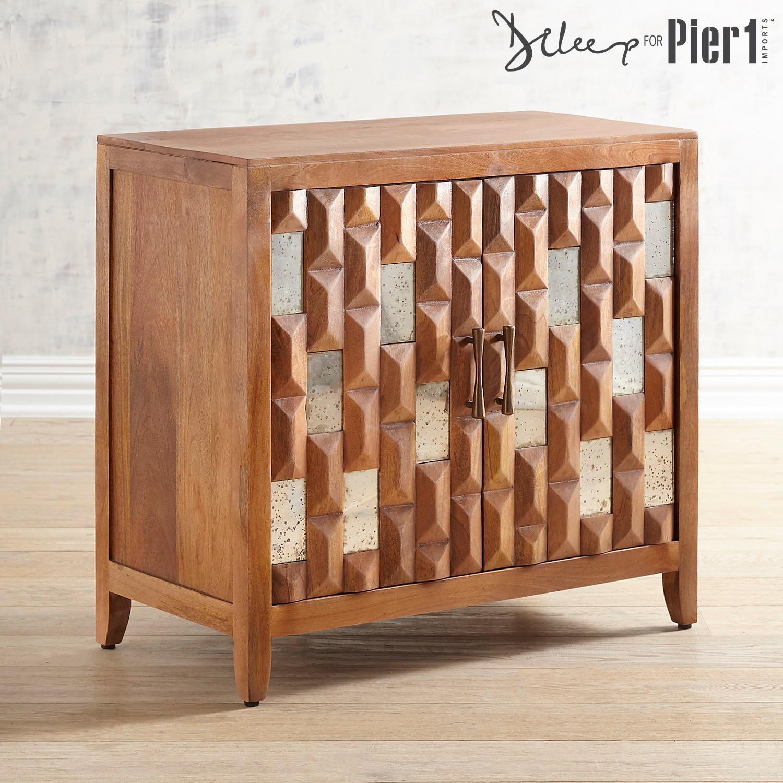 Pente Wooden Cabinet