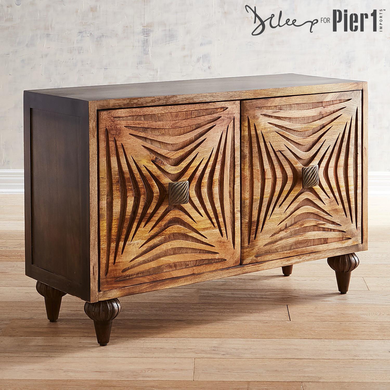 Raku Wooden Cabinet