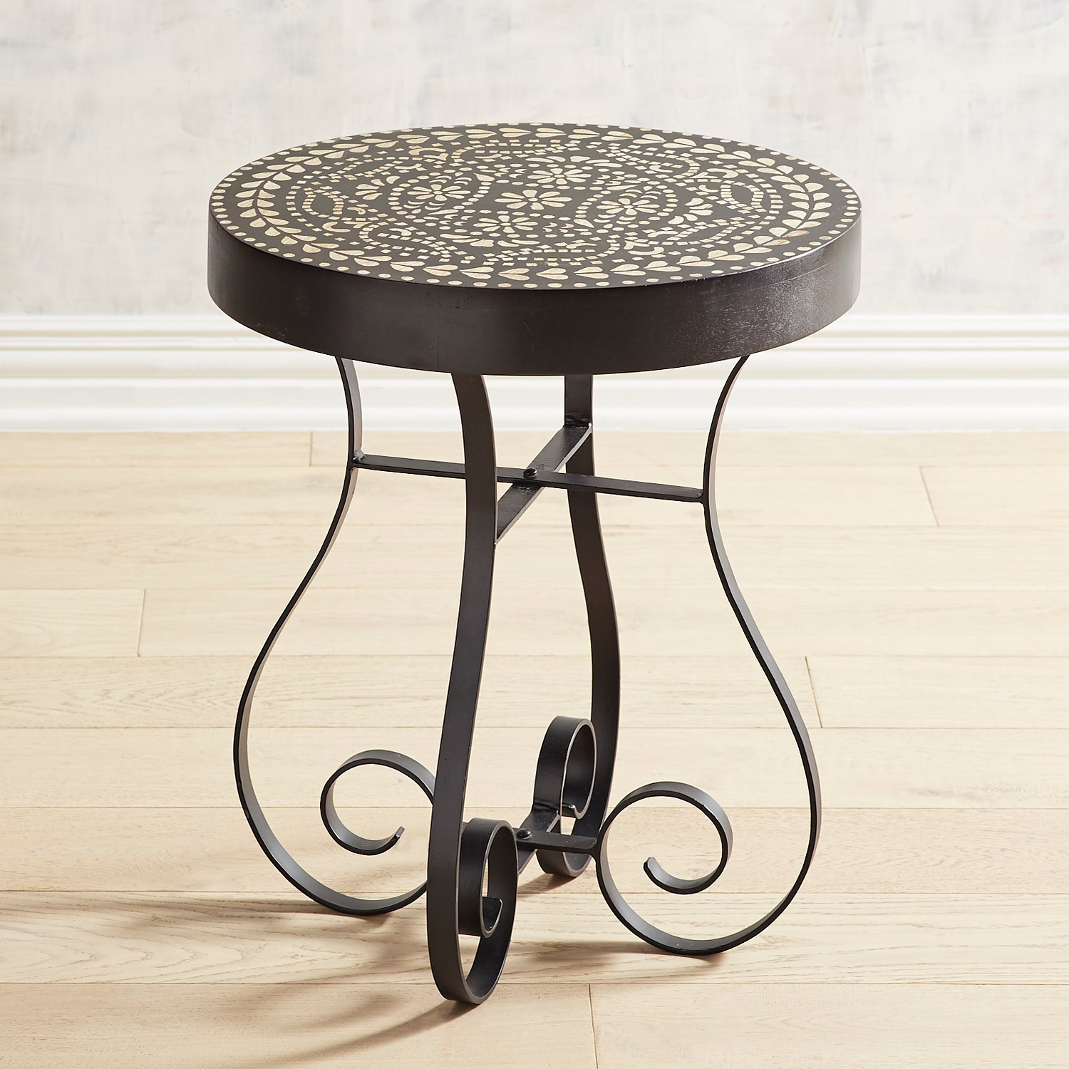 Riya Painted Side Table