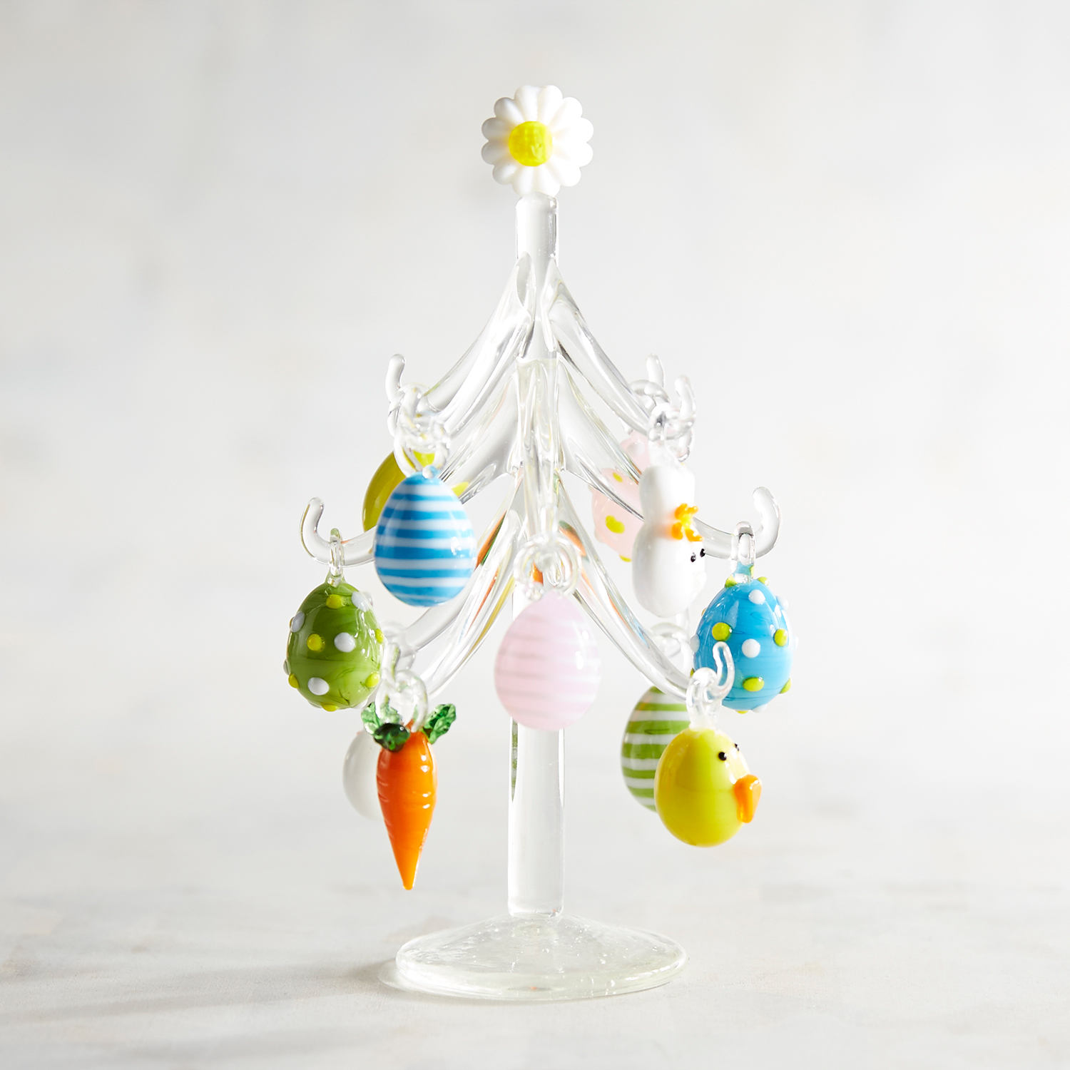Collectible Glass Easter Tree
