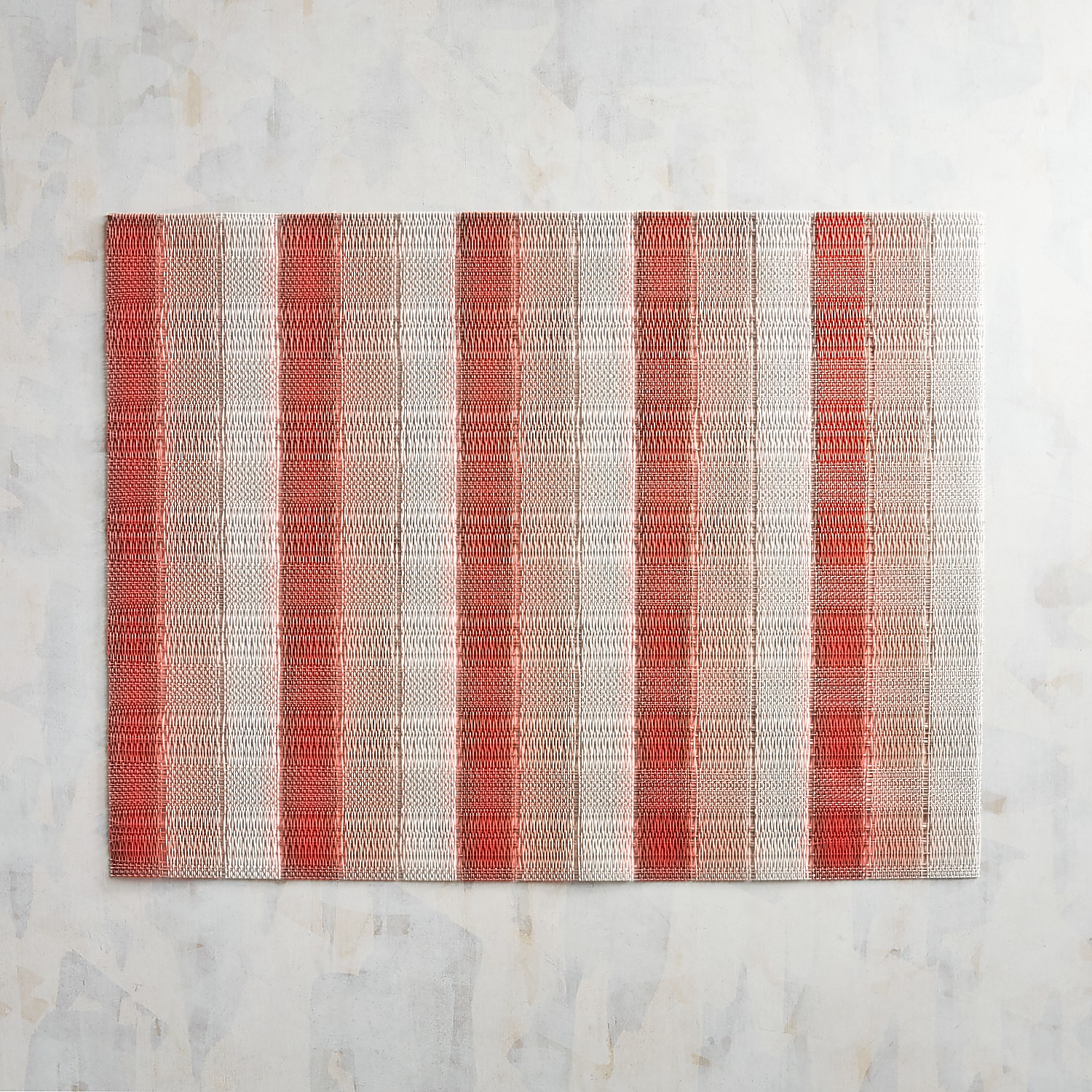 Tabella Bold Coral Striped Placemat