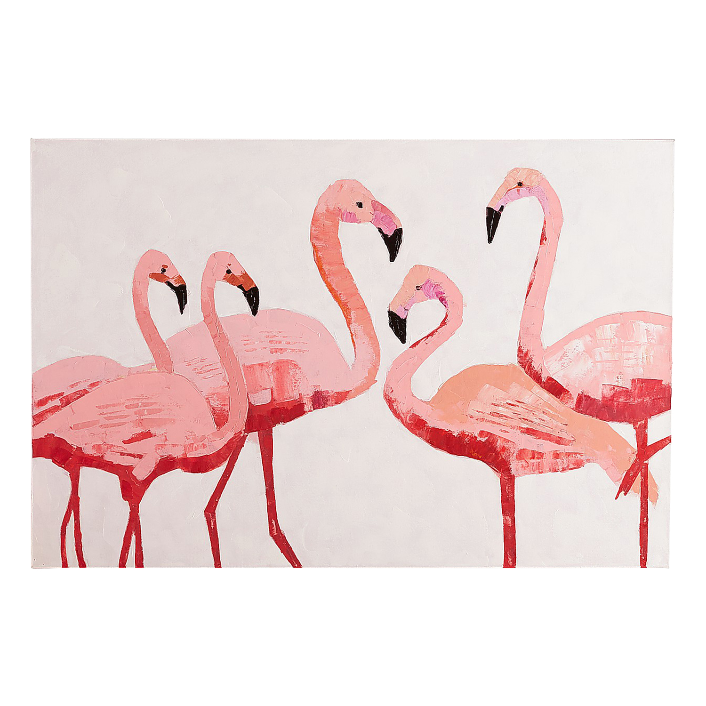 Flamingo Flock Wall Art