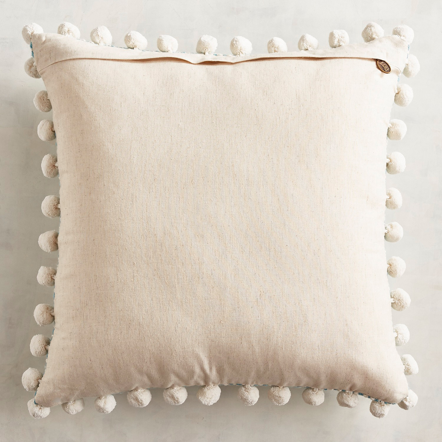 Chunky Texture Pompom Mineral Pillow