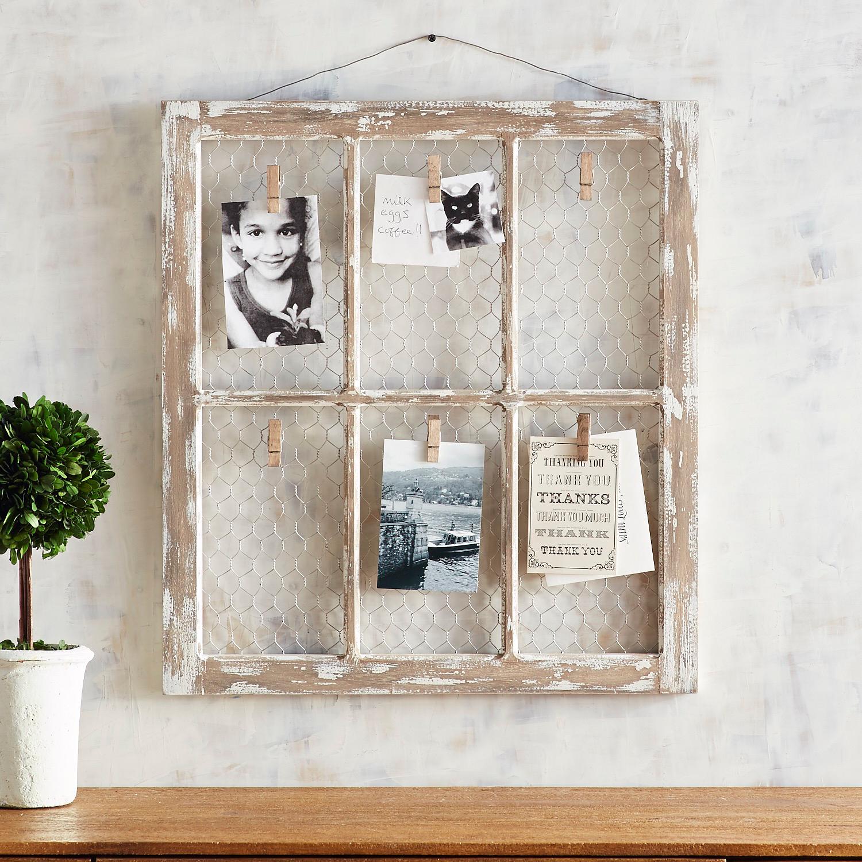 Blynn 6-Clip Wall Photo Frame
