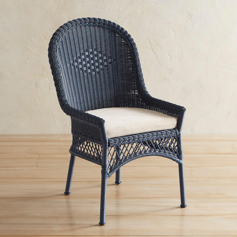 Santa Barbara Denim Blue Dining Chair