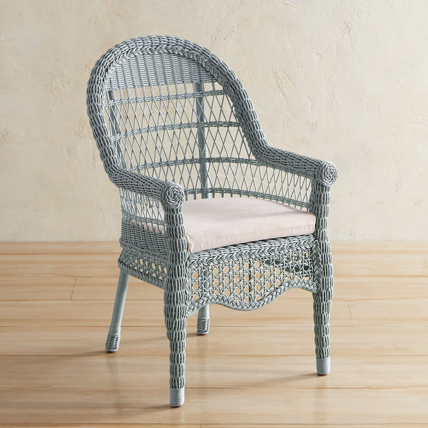 Sunset Pier Seafoam Dining Chair