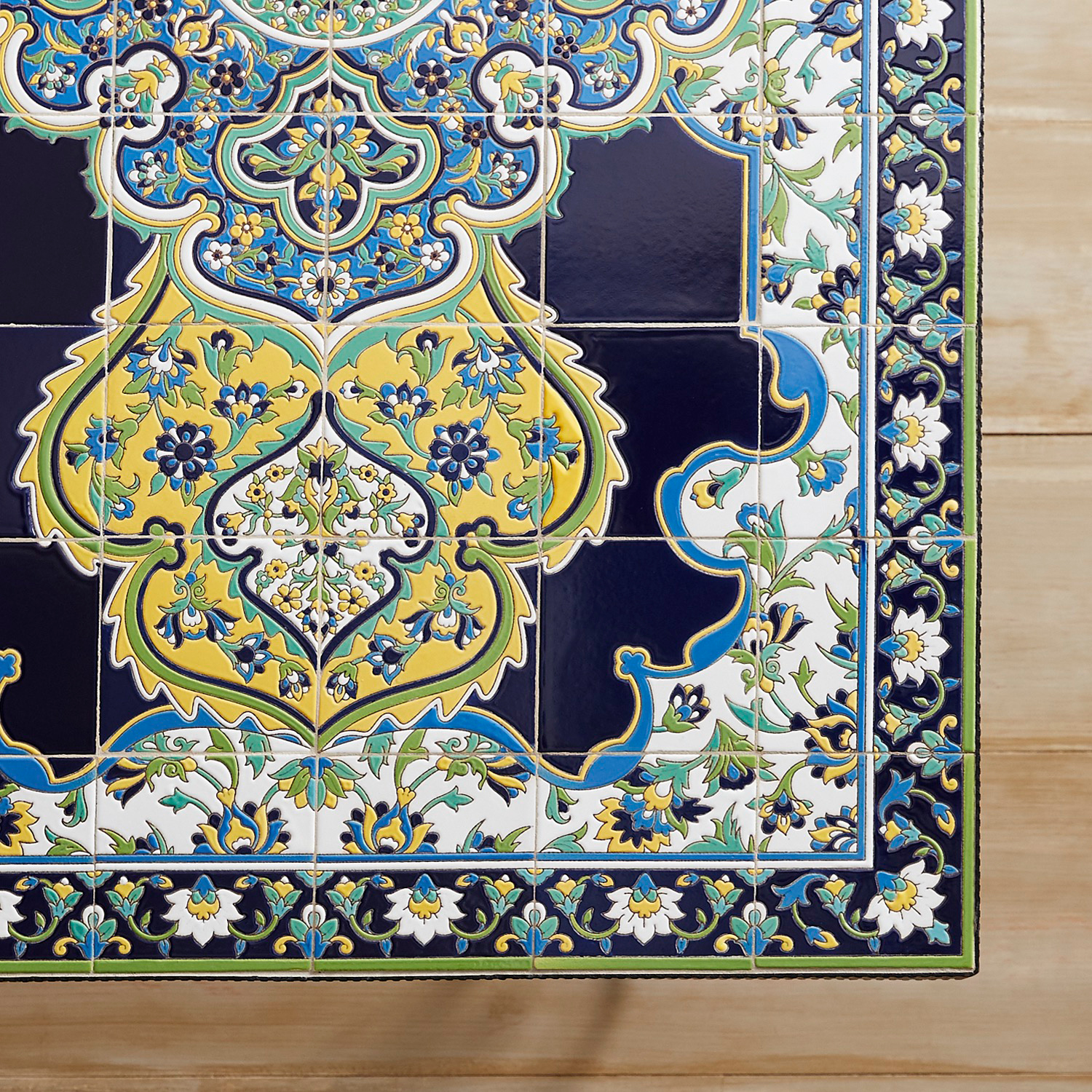 variation thumbnail of Emilio Blue Mosaic Dining Table