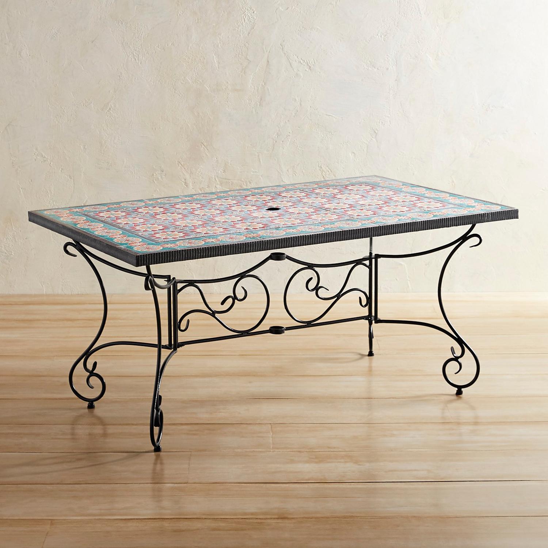 Oceana Mosaic Dining Table
