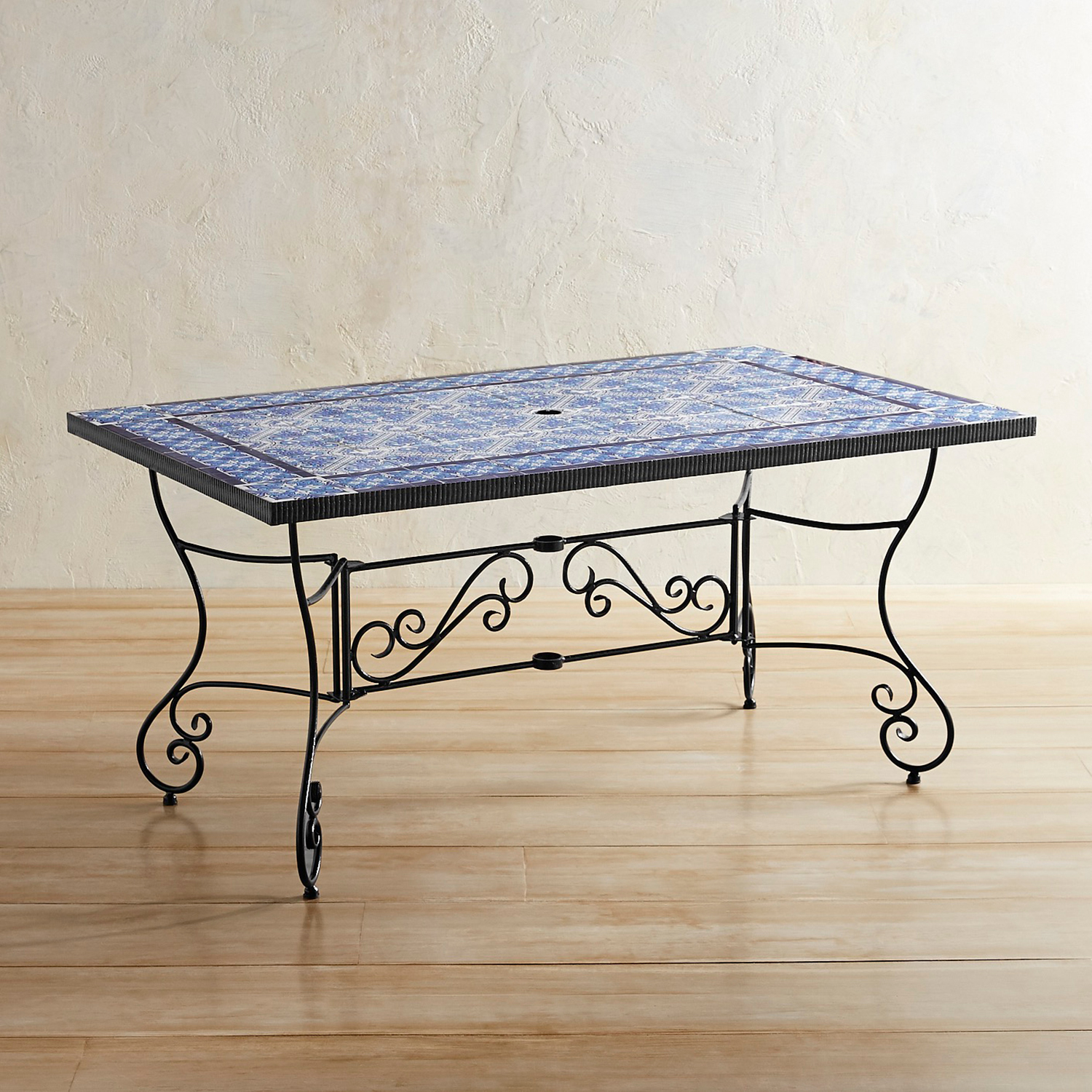 Azure Mosaic Dining Table
