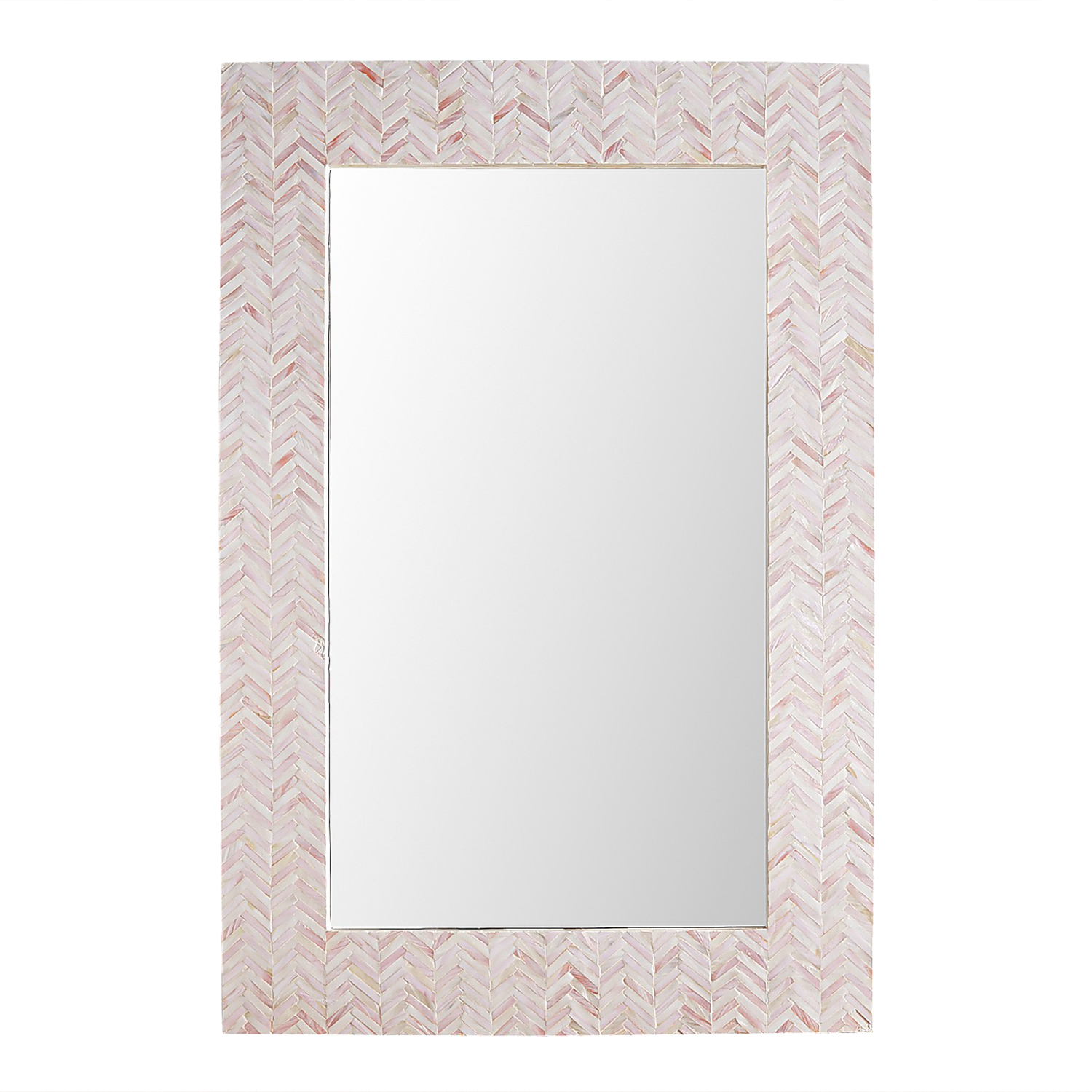 Mother-of-Pearl Burst Mirror