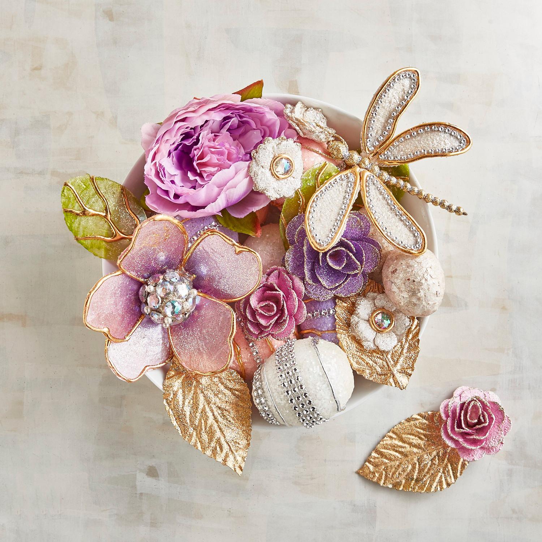 Glamour Capiz Vase Filler