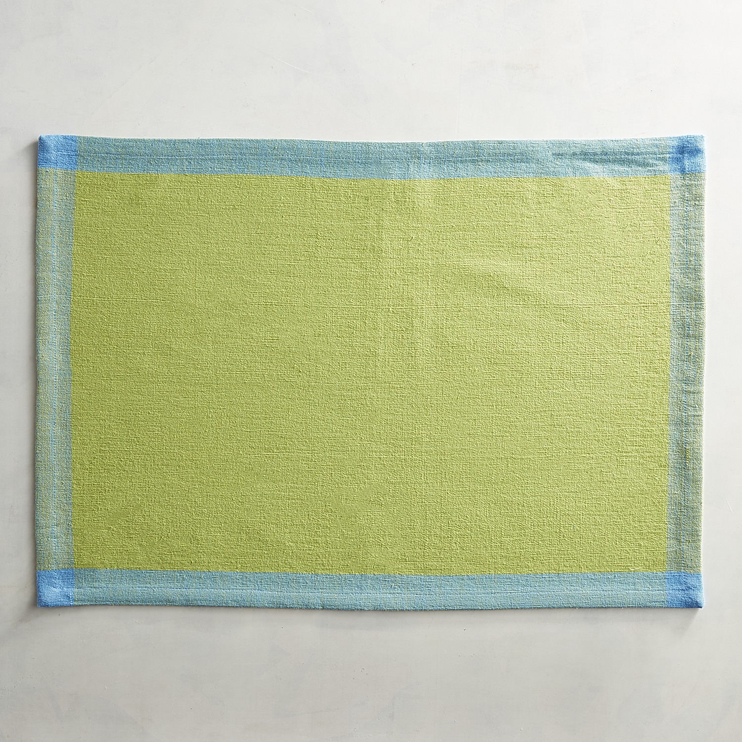 Green Colorblock Placemat