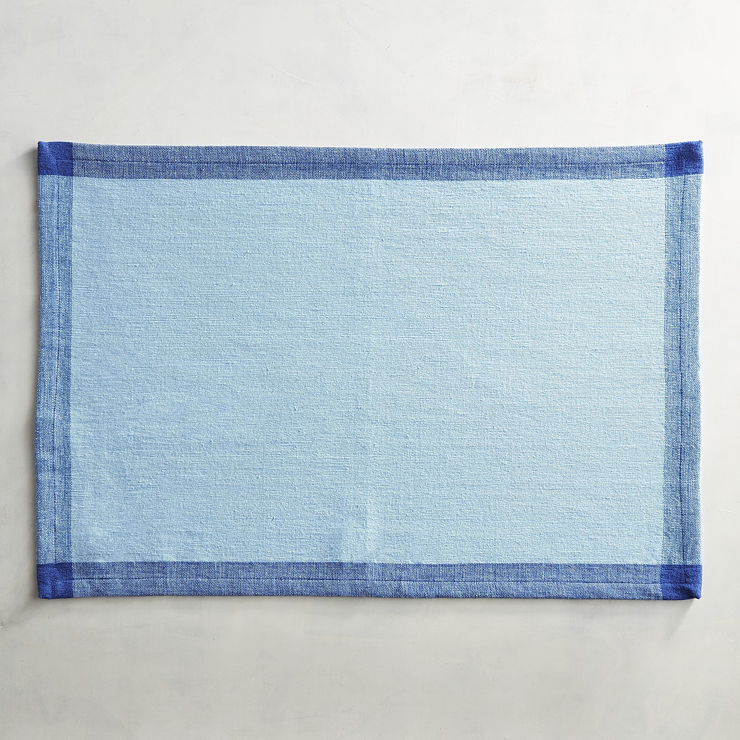 Blue Colorblock Placemat
