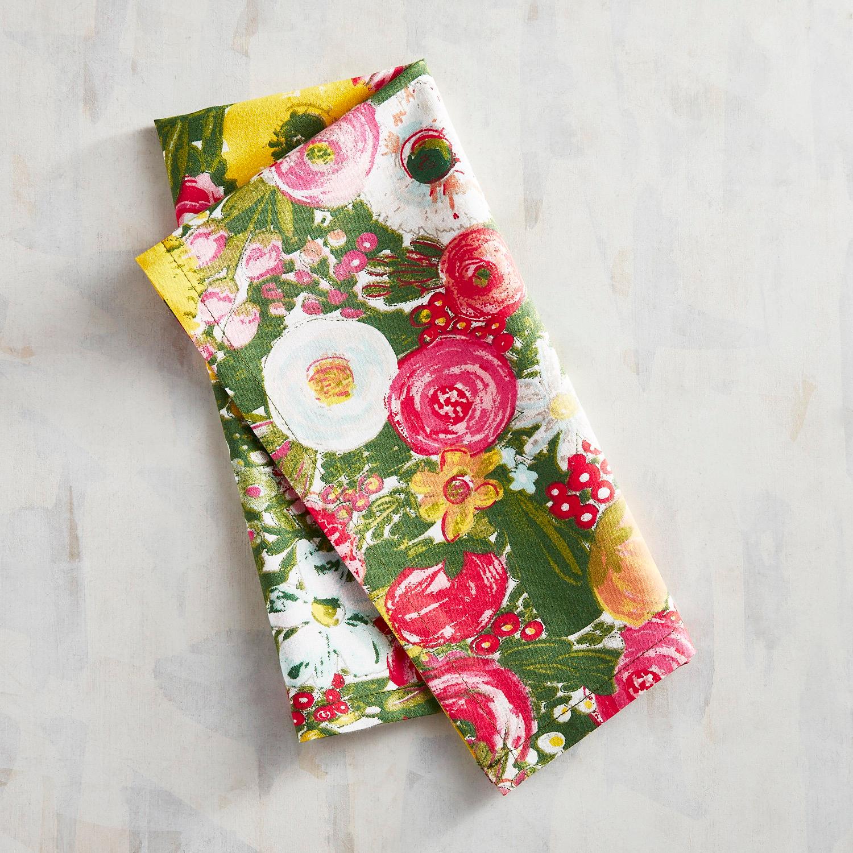 Bountiful Blooms Napkin