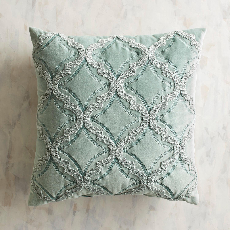 Embroidered Plush Maui Pillow