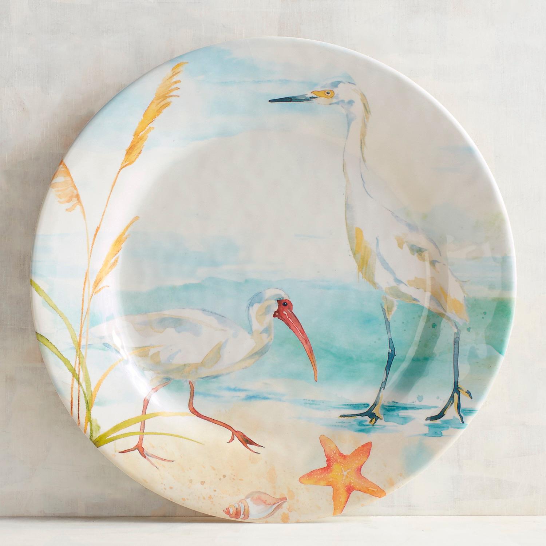 Seabirds Melamine Dinner Plate
