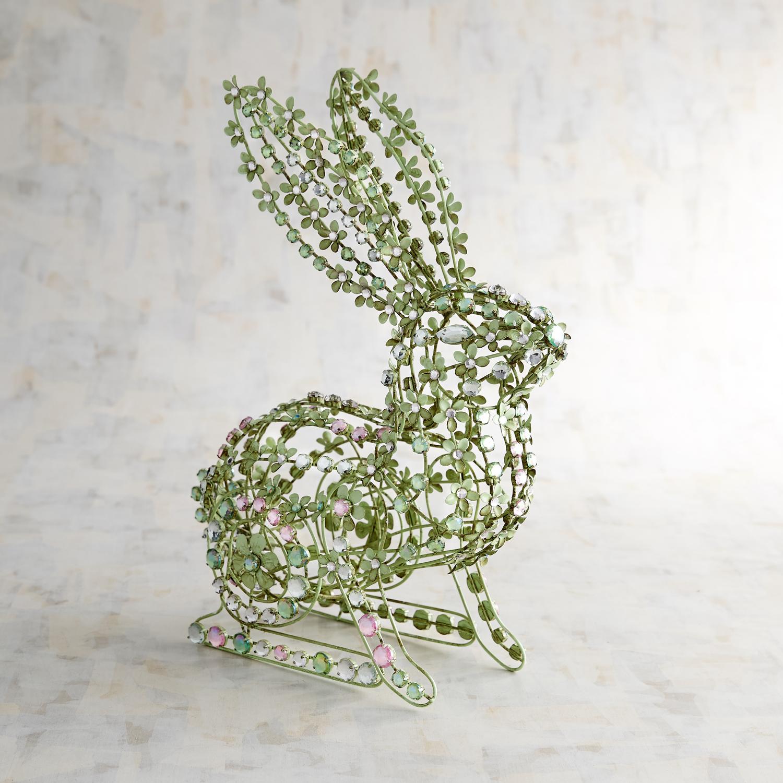 Green Jeweled Bunny