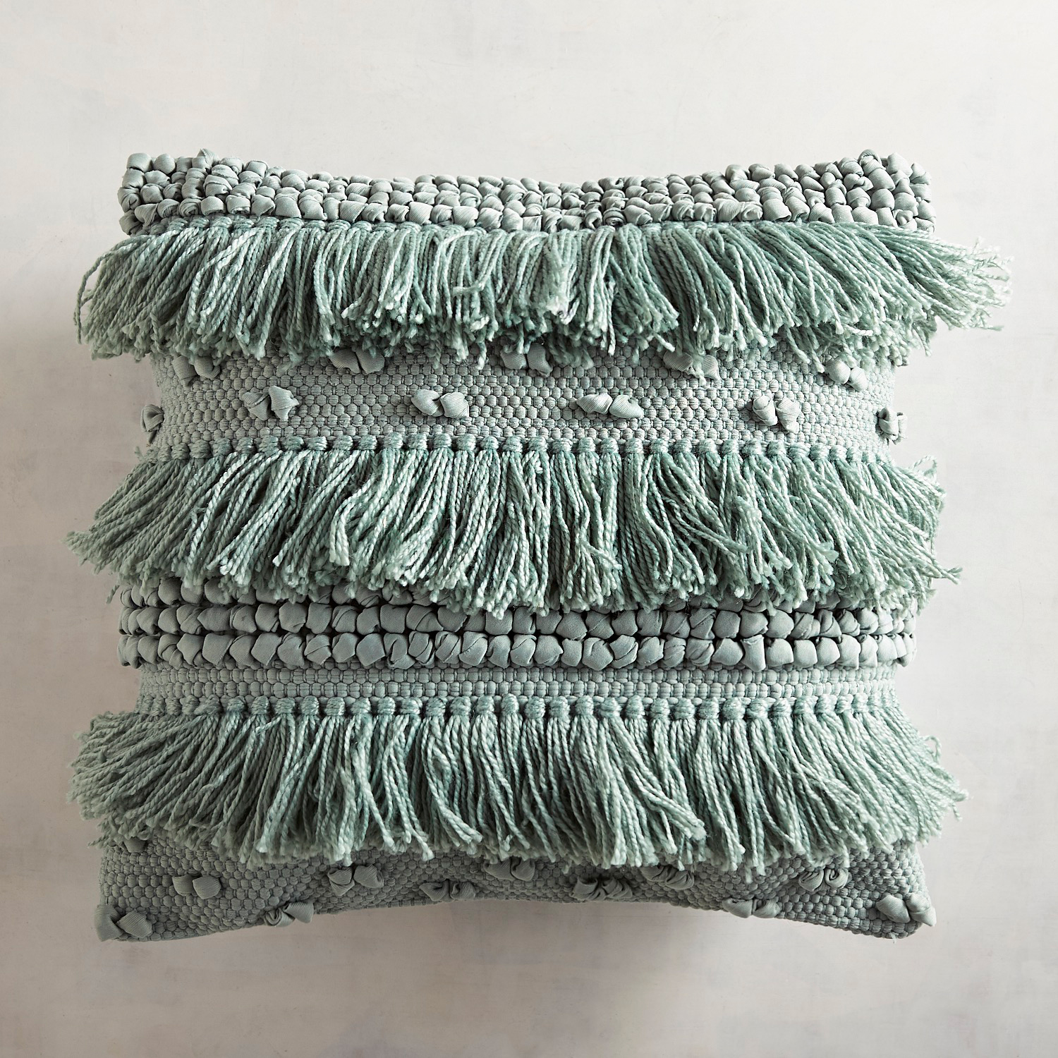 Chindi Fringed Maui Pillow