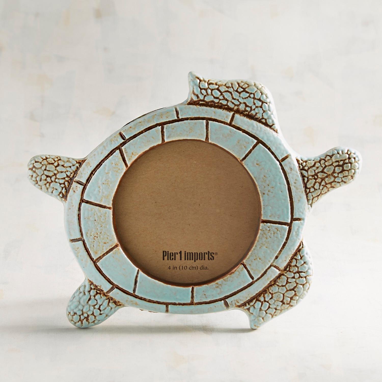 Speedy the Turtle Ceramic Photo Frame