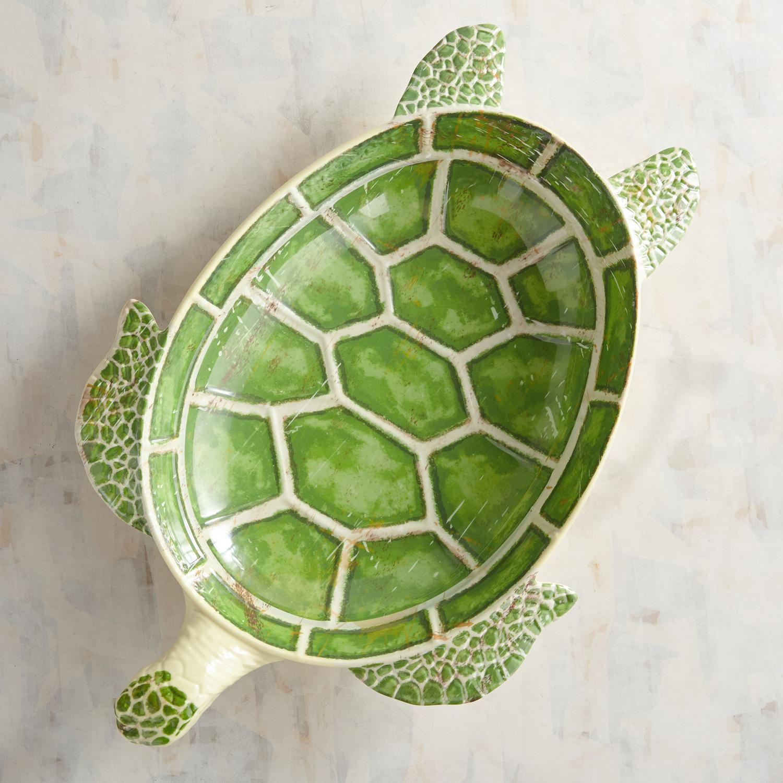Speedy the Turtle Melamine Serving Bowl