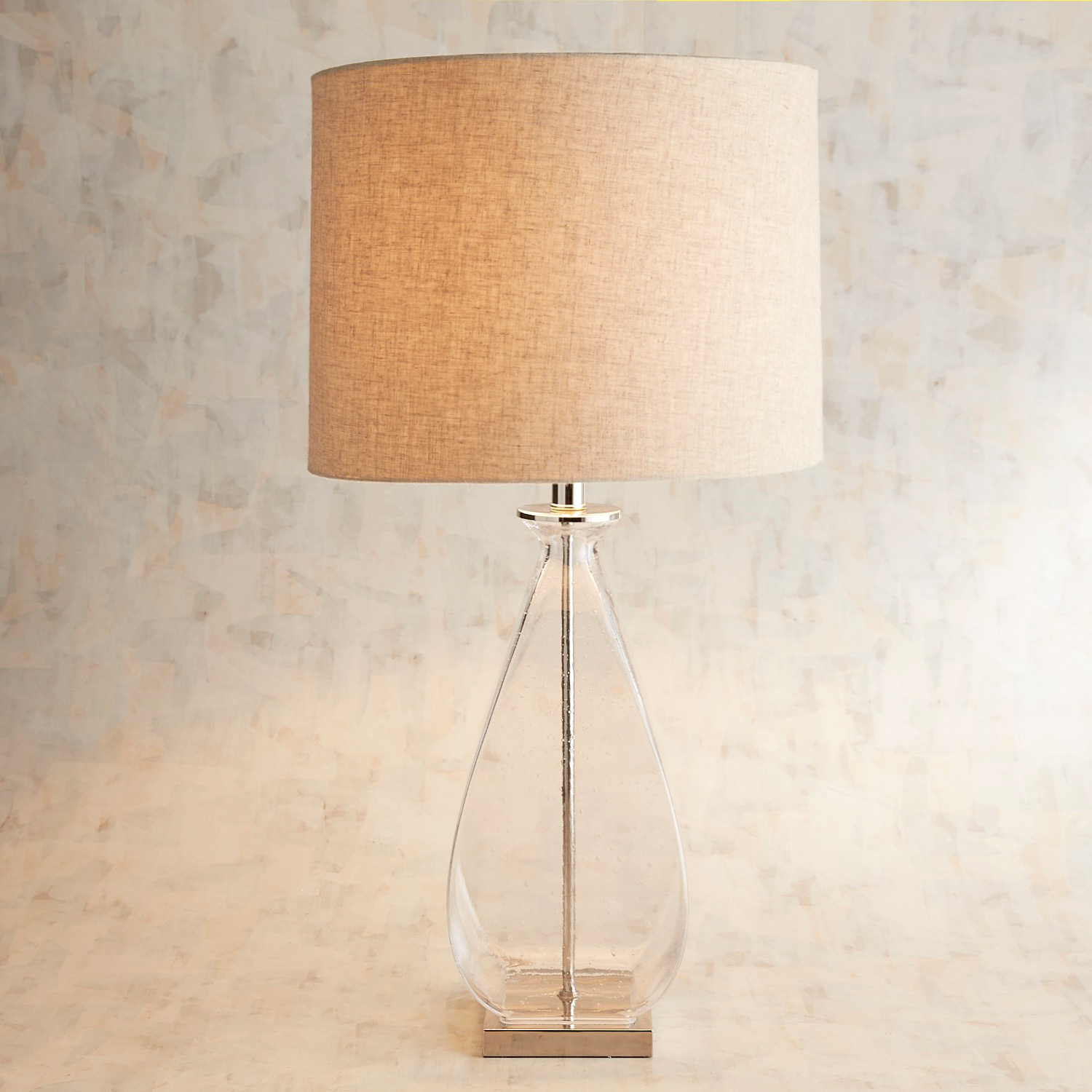 Doli Clear Glass Table Lamp