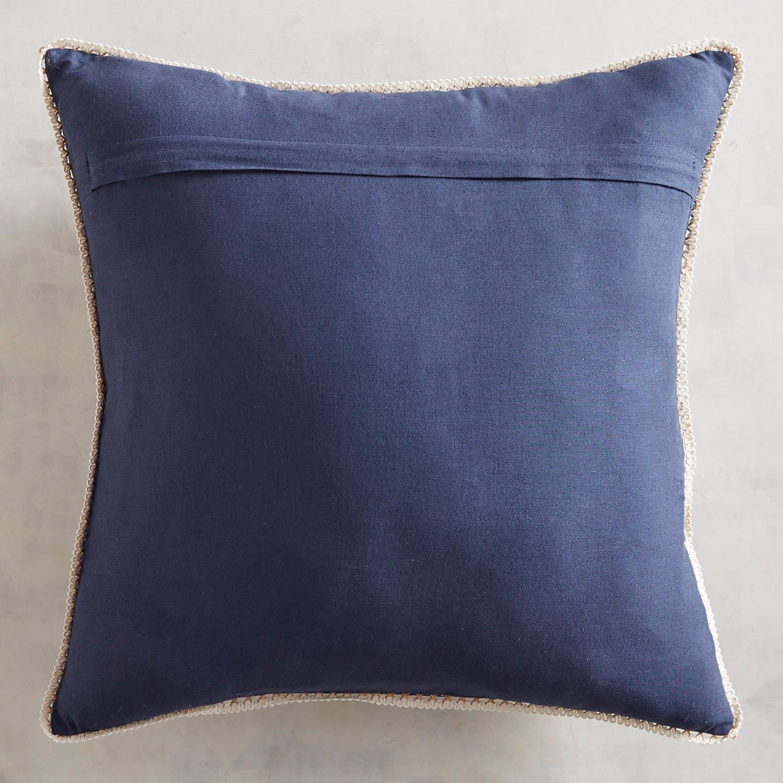 Jute Whales Pillow