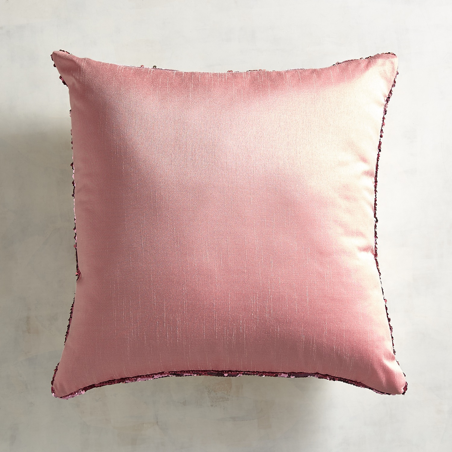 Blush & Gold Reversible Sequins Mermaid Pillow