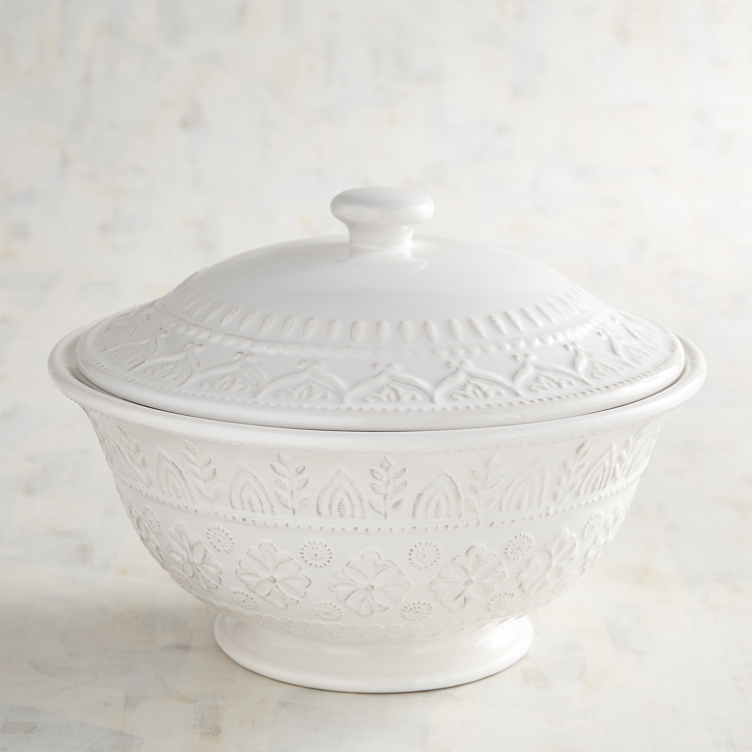 Chateau Claire White Soup Tureen