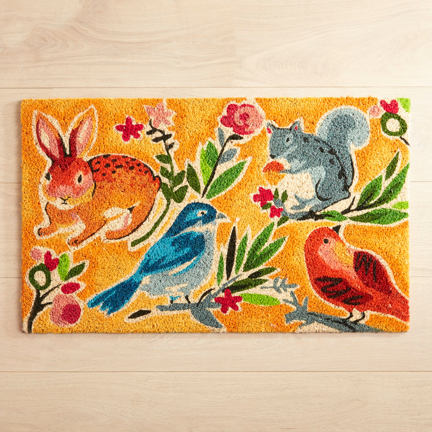 Animal Friends Doormat