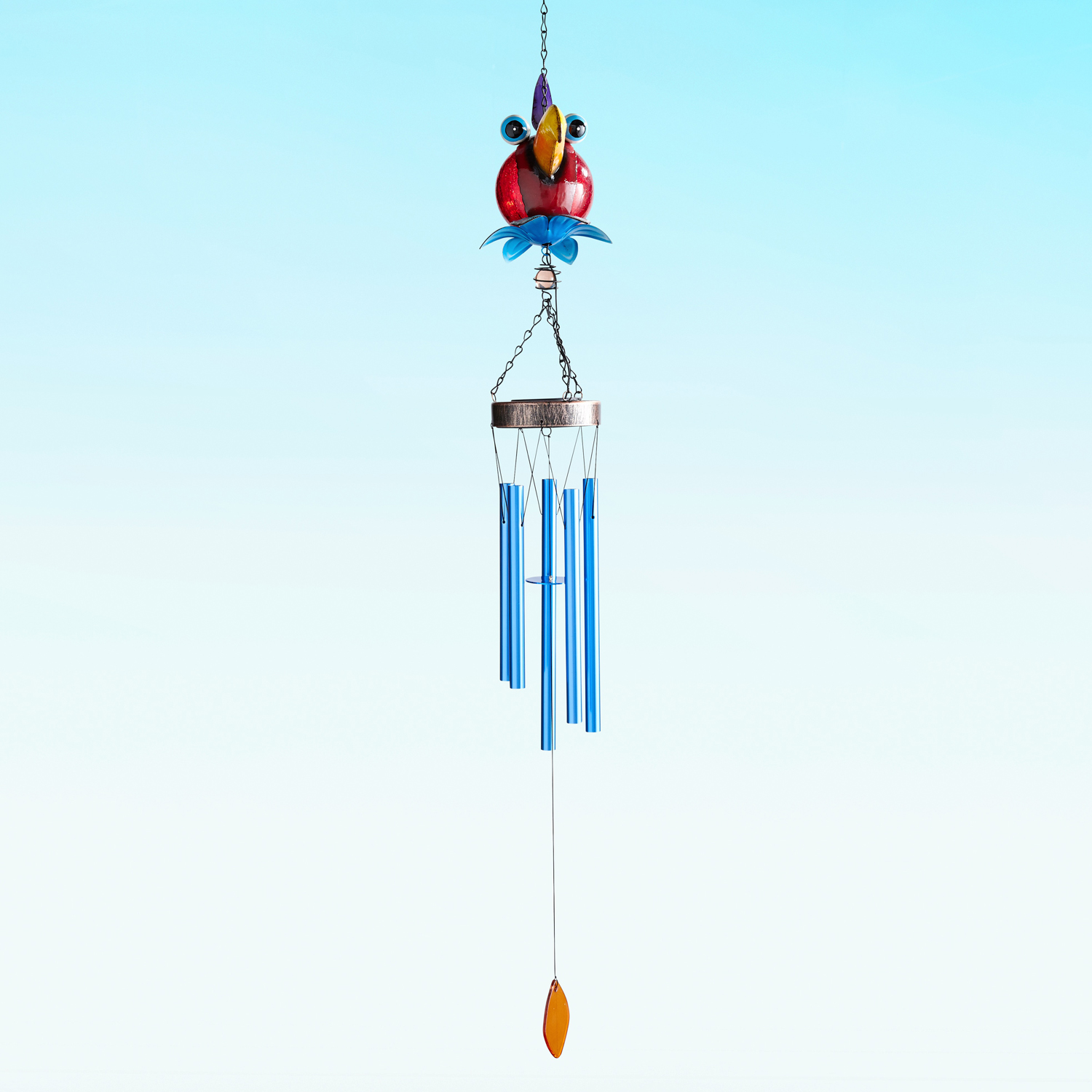 Crazy Solar LED Bird Wind Chimes