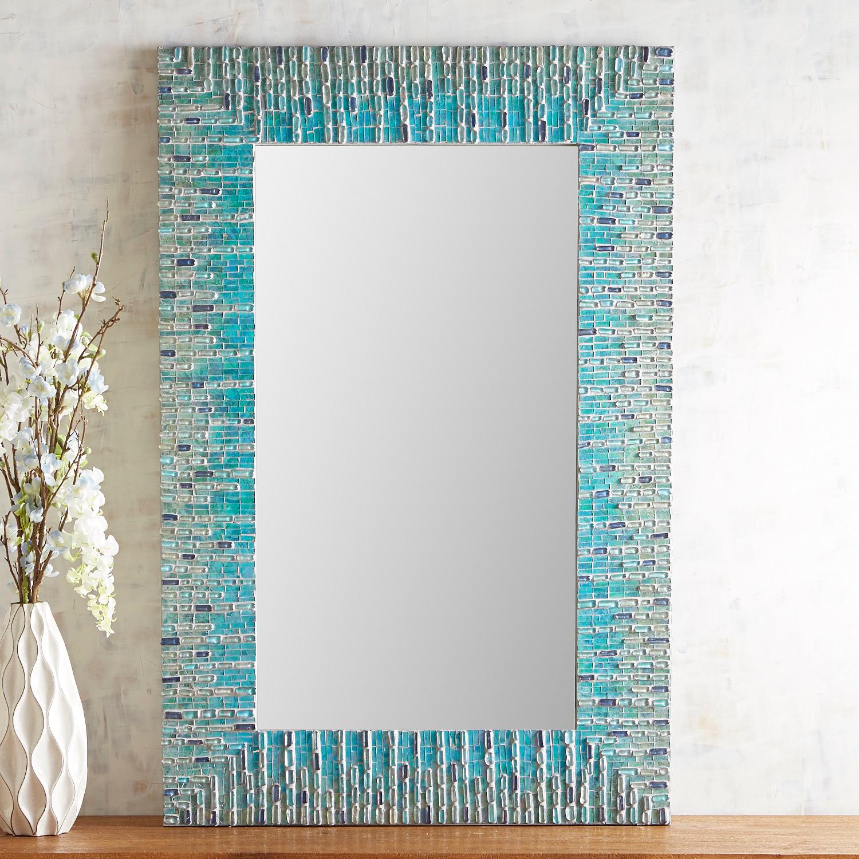 Sea Glass Mosaic Mirror