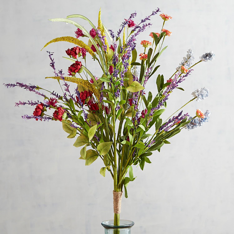 Faux Summer Wildflower Bundle