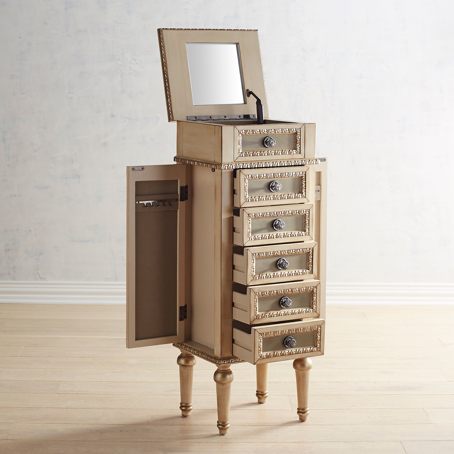 Charlotte Jewelry Armoire