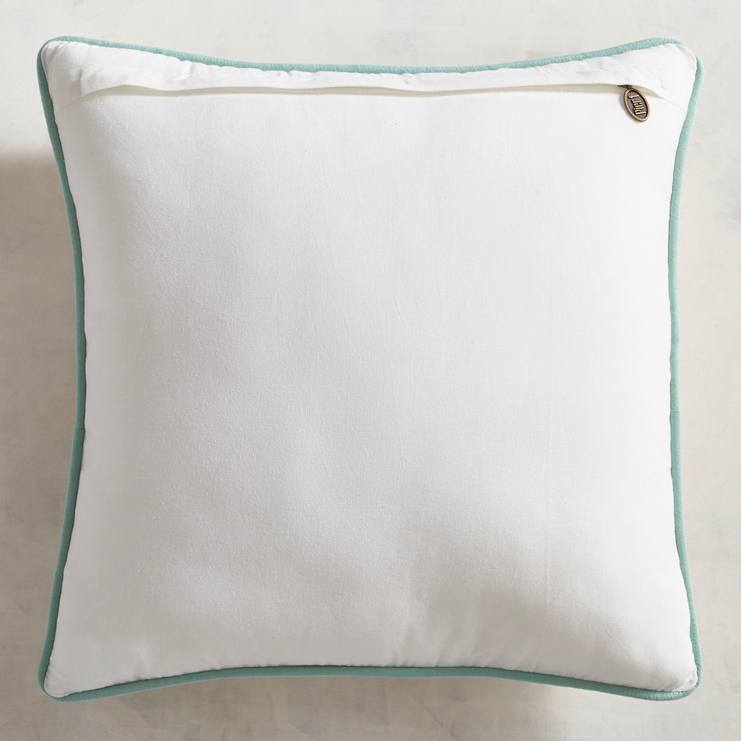 Flowers with Hummingbird Pillow