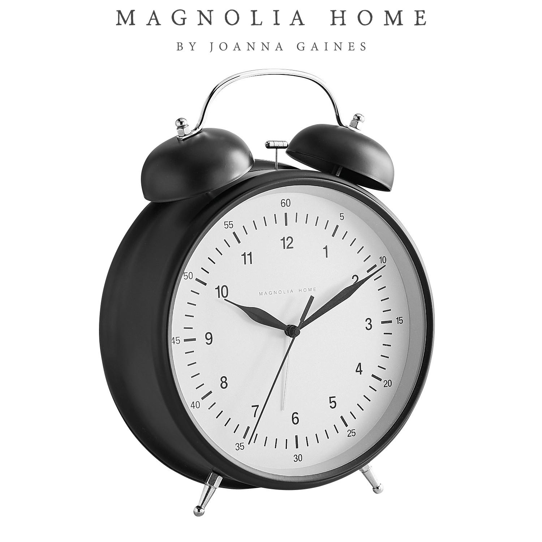 Magnolia Home Oversized Alarm Clock
