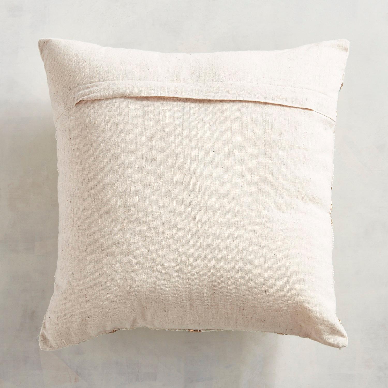Beaded Shells Pillow
