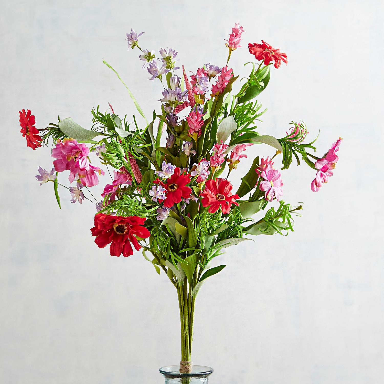 Faux Daisy & Field Flower Bundle