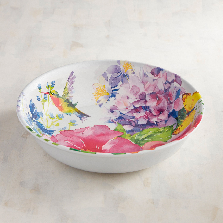 Homestead Floral Melamine Dinner Bowl